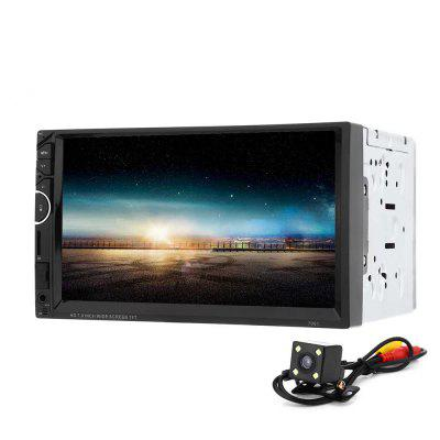 7001 7 inch 2-din 12V Car MP5 Multimedia Player