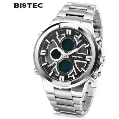 BISTEC 208 Men Dual Movt Digital Quartz Sport Watch