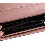 Baellerry Detachable Cash Card Holder Cartera de mano - NEGRO
