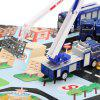 Xiongfengda Kids Alloy 1:60 Scale Police Department Set - BLUE