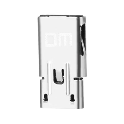 DM Micro USB to Type C Port OTG Data Transfer AdapterUSB Flash Drives<br>DM Micro USB to Type C Port OTG Data Transfer Adapter<br><br>Package Contents: 1 x Adapter<br>Package Size(L x W x H): 9.00 x 5.50 x 0.50 cm / 3.54 x 2.17 x 0.2 inches<br>Package weight: 0.016 kg