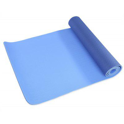 Exercise Fitness 0 6cm Dual Color Yoga Mat Accessory 19