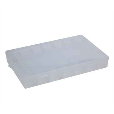 28 Compartments Transparent Plastic Storage Box