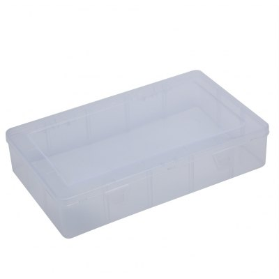 Rectangular Transparent Plastic Storage Box
