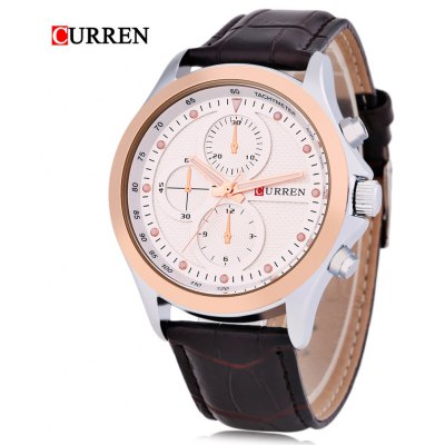 CURREN 8138 Montre Homme Quartz