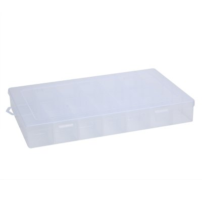 Detachable 28 Compartments Plastic Storage Box
