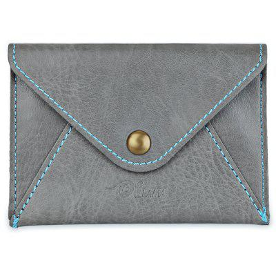 Cute Matte Envelope Design Pure Color Mini-card Wallet