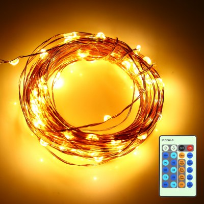HQYG - 05 30CM 100 LEDs String Light with Remote Controller