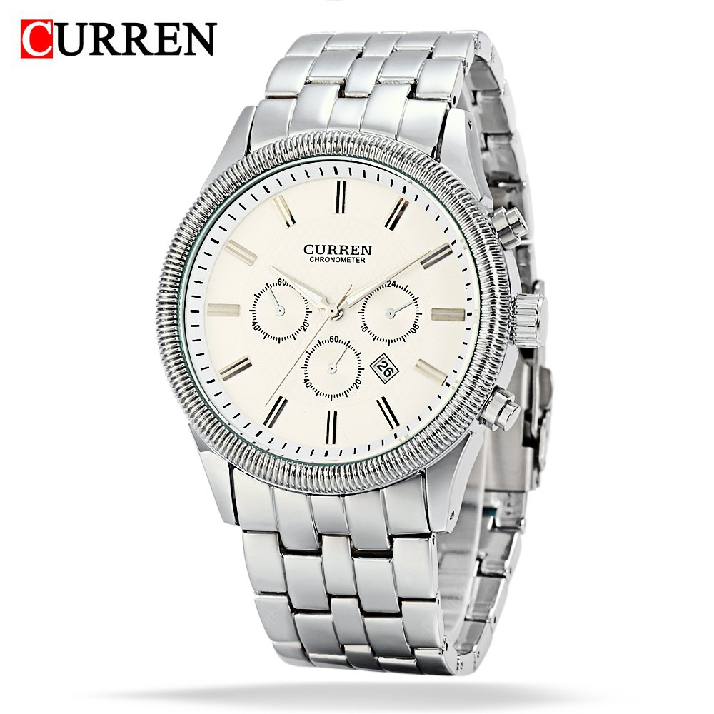 CURREN 8058 Montre Homme Quartz