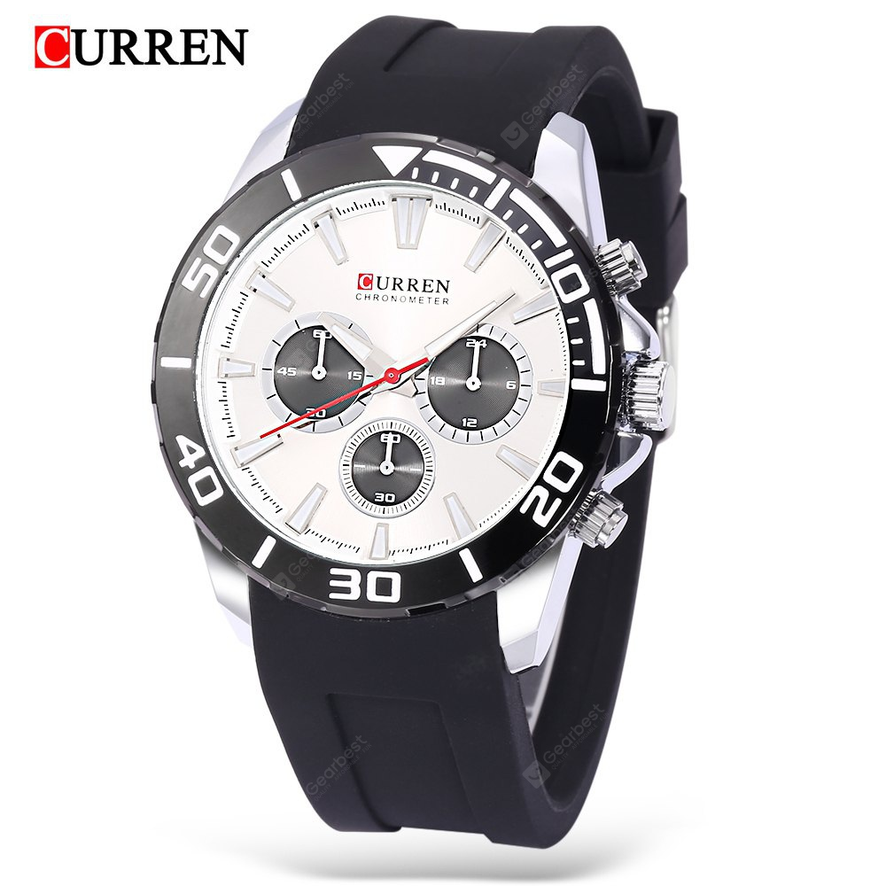 Curren 8185 Montre Homme Quartz