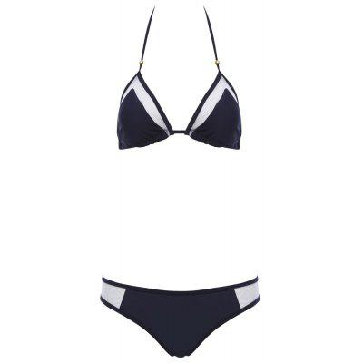 Two-piece Unique Sexy Grenadine Bikini Swimwear Set Suit