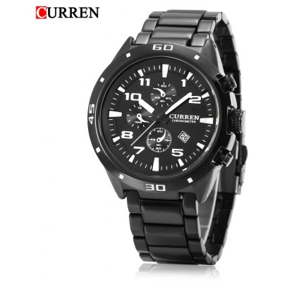 Buy CURREN 8021 Men Quartz Watch, BLACK, Watches & Jewelry, Men's Watches for $20.71 in GearBest store