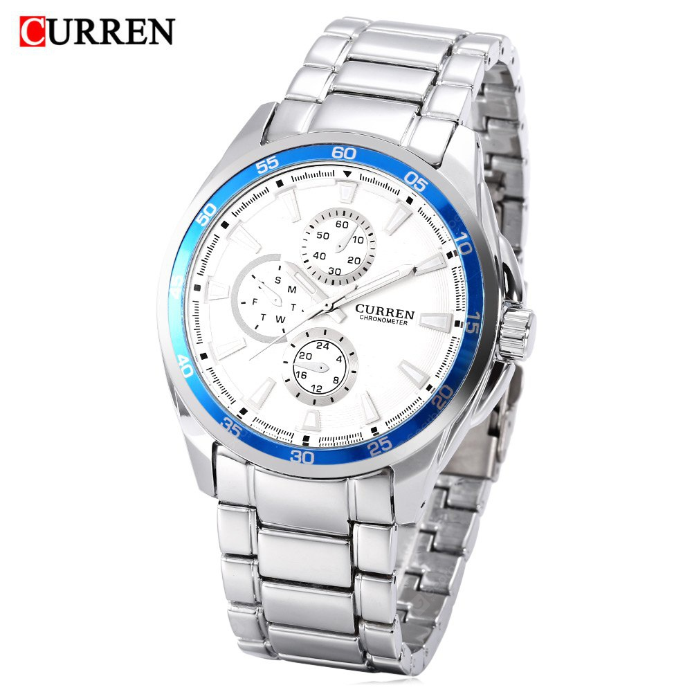 CURREN 8076 Montre Homme Quartz