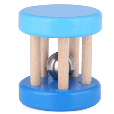 Fantastic Wooden Rattle Sounds Shaking Bell Child Toy