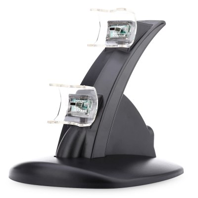 Dual Micro USB Charging Charger Stand for PS3 Joystick