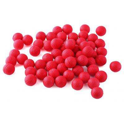 100pcs PU Foam Compatible Gun Bullet Ball