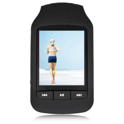 HOTT MU1037 Podómetro Bluetooth FM Radio MP3 Player
