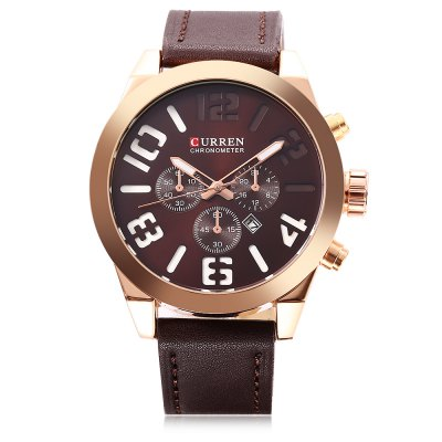 Curren 8198 Male Calendar Quartz Watch curren curren 6
