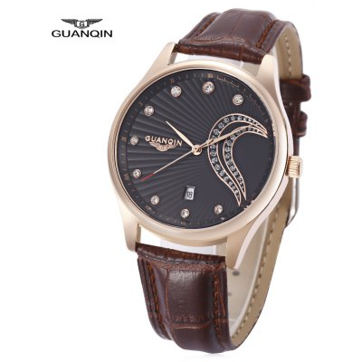 GUANQIN GS19040 - 1A Men Quartz Watch
