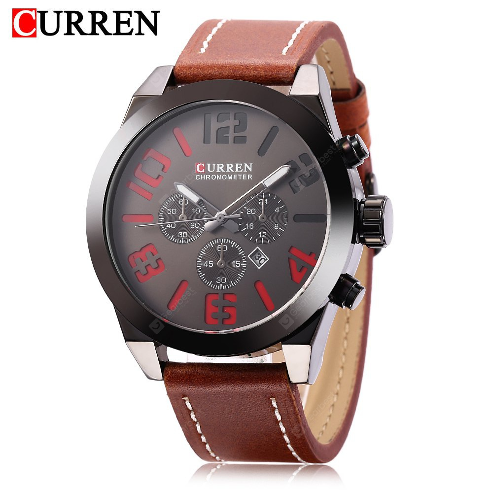 curren chronometer watch black это так