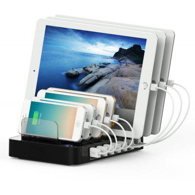 Multifunctional 64.98W 7 USB Output Charging Holder Station
