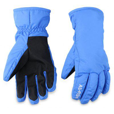 Paired Unisex Outdoor Snowboard Skiing Gloves