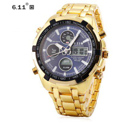 6.11 8128 Male Digital Quartz Watch