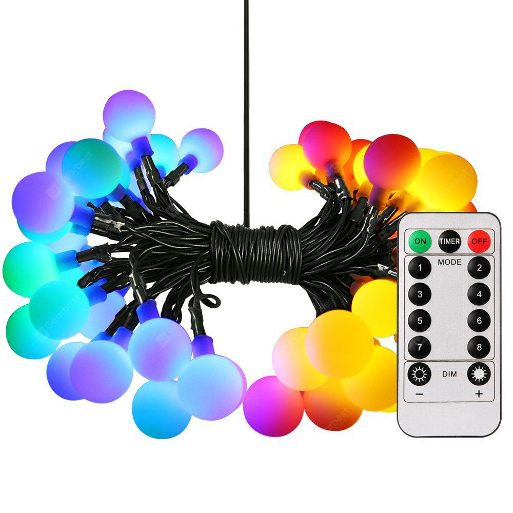 50-LED Light String Battery Operated Hanging Lamp
