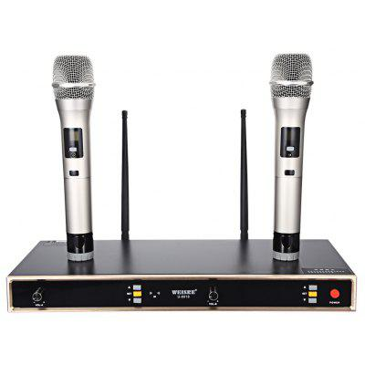 WEISRE U - 8010 Professional UHF Wireless Microphone Set