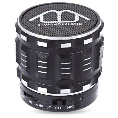 Buy BLACK E-WONDERLAND Bluetooth Speaker for $8.35 in GearBest store