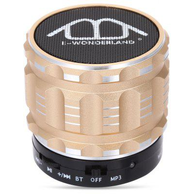 Buy CHAMPAGNE E-WONDERLAND Bluetooth Speaker for $8.35 in GearBest store