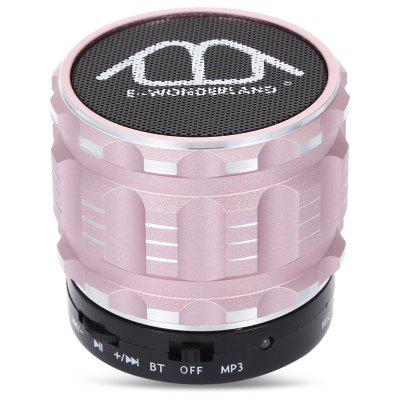 Buy PINK E-WONDERLAND Bluetooth Speaker for $8.35 in GearBest store
