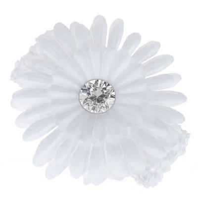 Daisy Rhinestone Decoration Baby Girls Elastic Hair Band