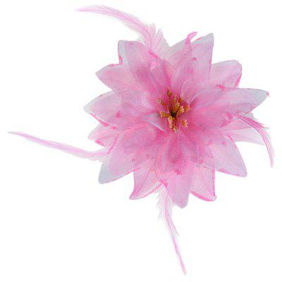 Lily Oversize Floral Design Girls Hair Pin