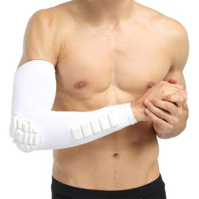 Unisex Extended Single Arm Elbow Sleeve Pad Support