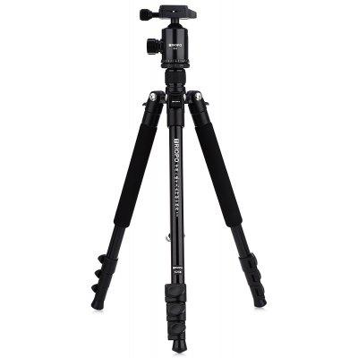 TRIOPO K258 + D - 2 61.6 inch Tripod Monopod with 1/4 Screw