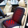 12V Car Heated Seat Cushion Cover - BLACK