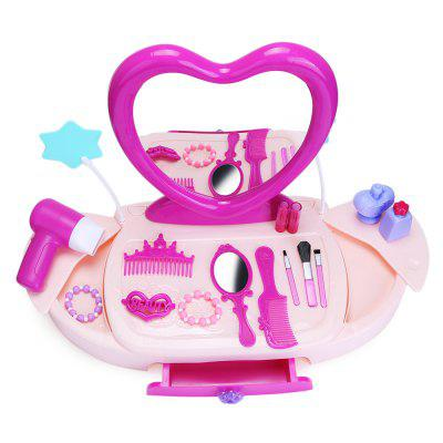 Bowa 19pcs Baby Kids Makeup Tools Box