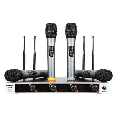 WEISRE U - 400 Professional VHF Wireless Microphone