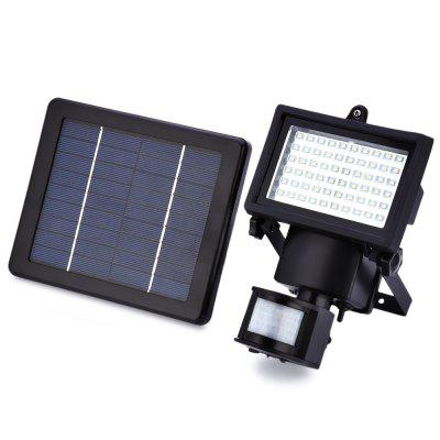 60 LEDs Solar Powered Motion Sensor Light