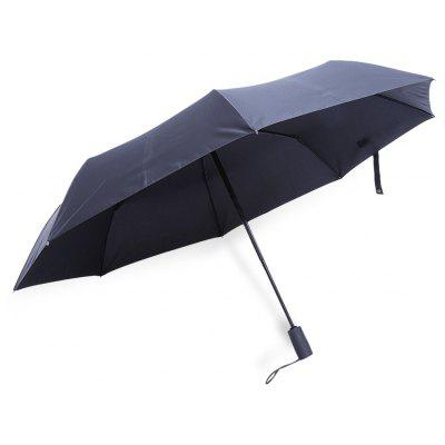 Buy BLACK Automatic 3 Fold Rain Umbrella for $12.58 in GearBest store
