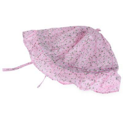 Floral Print Baby Girls Sun Protection Hat