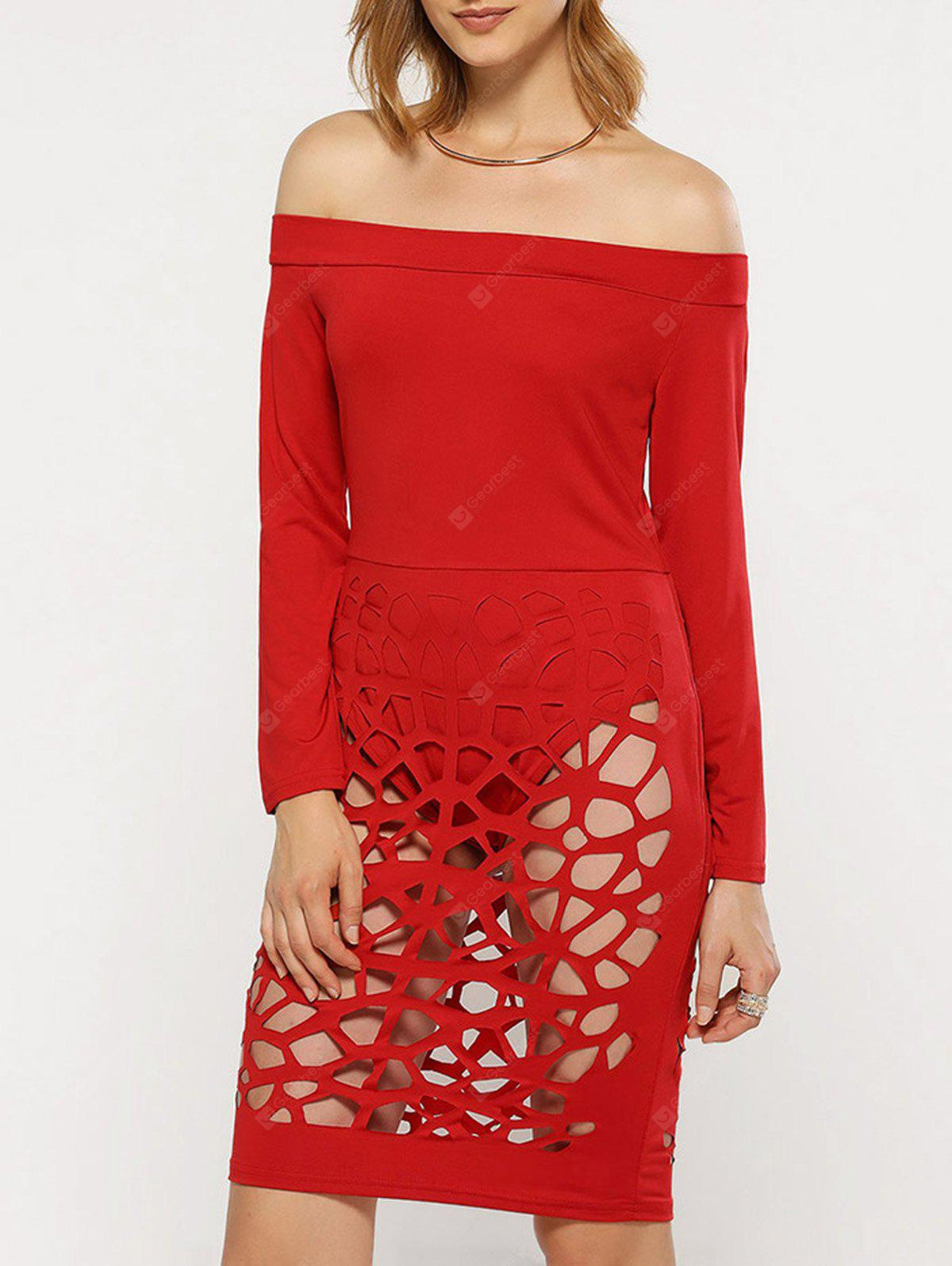 RED, Apparel, Women's Clothing, Women's Dresses, Bodycon Dresses