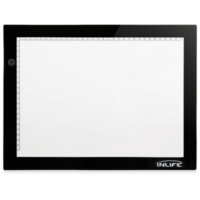 Inlife RH - A4S Ultra-thin Light Pad Box for Tracing Drawing