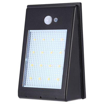 Solar Powered Motion Sensor Wall Lamp