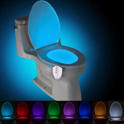 YouOKLight Motion 8 Colors LED Waterproof Sterilization Closestool Lamp