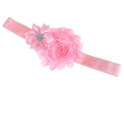 Flash Flower Zircon Decoration Hair Band for Babies