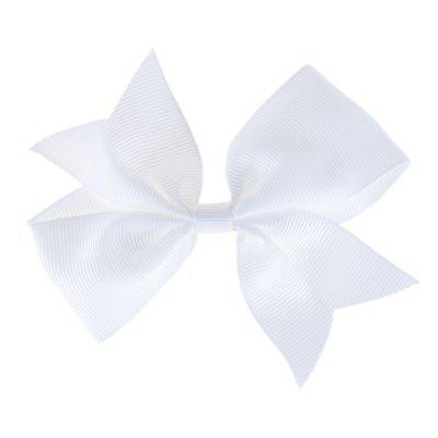 Solid Color Bowknot Design Ladies Ribbon Hair Pin