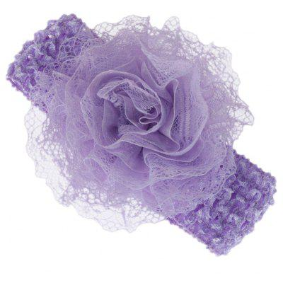 Lace Floral Design Baby Girls Knitted Hair Band