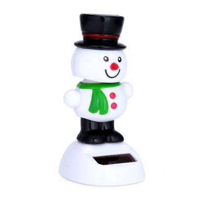 Novelty Solar Powered Dancing Snowman Toy Christmas GiftNovelty Toys<br>Novelty Solar Powered Dancing Snowman Toy Christmas Gift<br><br>Age Range: 2-4 Years<br>Material: Plastic<br>Package Contents: 1 x Solar Powered Toy, 1 x Double-sided Tape<br>Package Size(L x W x H): 15.00 x 12.00 x 7.00 cm / 5.91 x 4.72 x 2.76 inches<br>Package weight: 0.060 kg<br>Product weight: 0.031 kg